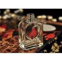 Wholesale 30ml Small Glass Perfume Bottles Vintage Silk Printing Heart Shape from china suppliers
