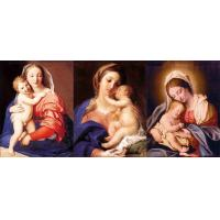 Wholesale 0.6mm PET Flip Religion Virgin Mary / Jesus 3D Lenticular Images For Wall Decro​ from china suppliers