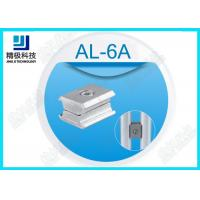 Wholesale Alloy Parallel Pipe Fitting Aluminum Tubing Joints For Working table , Surface Oxidation AL-6A from china suppliers