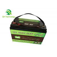 Wholesale 80Ah 3.2V Deep Cycle LiFePo4 Battery Pack ForSolor System Good Consistency Battery Pack from china suppliers