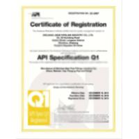 Ningbo Jazzy International Trade Co., Ltd Certifications