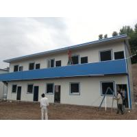 Wholesale High Strength Portable Prefab Steel Houses , Residential Multi Storey Steel Buildings from china suppliers