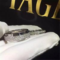 Wholesale Luxury jewe factoryt ring white gold diamond ring 18k white yellow gold diamond from china suppliers
