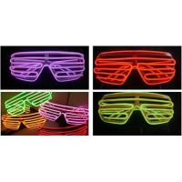 Wholesale Plastic Glowing El Wire Glasses For Party  from china suppliers
