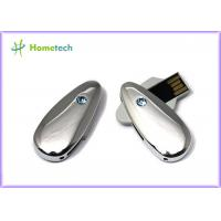 Wholesale Metal / Crystal Twist USB Sticks , Engraved 4G 8G Gifts USB Sticks from china suppliers