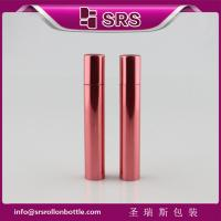 Quality Aluminum roll on bottle with steel ball 8ML color available for sale