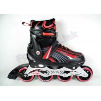 Wholesale Women's PVC Leather Youth Inline Hockey Skates with High Strength and Anti-Wrinkle Mesh from china suppliers