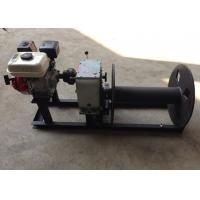 Wholesale Cable Winch Puller 3 Ton Gas Engine Powered Cable Drum Winch for Hoisting from china suppliers