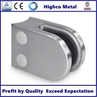 Wholesale Stainless Steel D Shape Round Glass Clamp 63x45mm Fit 8-10mm Glass for Glass Railing and Balustrade from china suppliers