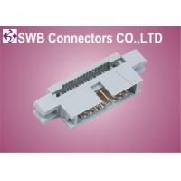Wholesale Press Flat Cable Type Box Header IDC Socket Connector 2 pin - 5 pin 2.54mm Pitch from china suppliers