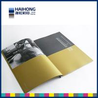 Wholesale Elegant matte coated art paper printed magazine with sewn and glue bound Binding from china suppliers