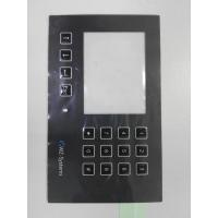 Wholesale Custom PC PET Membrane Control Panel With Clean Window Full Key Emboss SGS from china suppliers