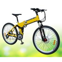 Wholesale Mountain Electric Bike With Shimano Derailleur , Battery Powered Mountain Bike from china suppliers