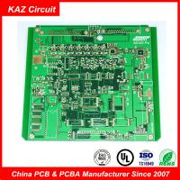 Quality Double Sided Industrial PCB Board FR 4 ENIG Immersion Gold With Green Soldmask for sale