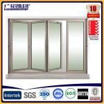 Wholesale aluminum folding doors bi-folding door from china suppliers