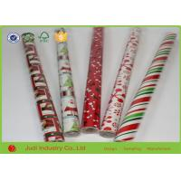 Quality 70cm X 300cm Double Sided Christmas Wrapping Paper Roll For Gift Package for sale