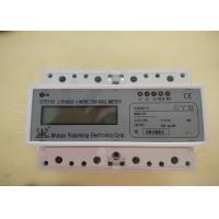 Wholesale Three Phase Four Wires Smart Din Rail Meter with RS485 or Wifi for Monitoring the Energy from china suppliers