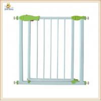 Wholesale Retractable White Metal Baby Gates U Shaped Frame , Expandable Baby Gates from china suppliers
