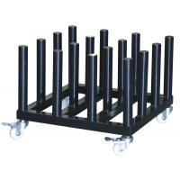 Wholesale organizer rack Rolling Floor Rack for Vinyl Roll Storage  Heavy Duty Media Roll Cart from china suppliers
