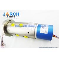 Wholesale 2 ~36 Circiuts Power Singnal Hybrid Slip Rings / Hydraulic Rotary Union 6 Passage Oil from china suppliers