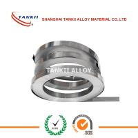 Buy cheap 0.3*12mm Nicr8020  Nicr Alloy Nichrome Nickel Chromium Alloy Ribbon Strip from wholesalers