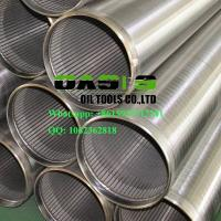 Wholesale High Quality Stainless Steel Wire Wrapped Slot Wedge Wire Johnson Screens from china suppliers