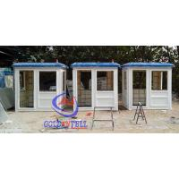 Wholesale Fiberglass white blue color parking booth portable security booth for highway from china suppliers