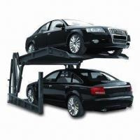 Buy cheap Inclined Parking Lift with 2.2kW Motor Power, Button Operating and Oil Pressure Driving from wholesalers