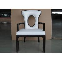 Buy cheap Solid Wood Chair Modern Hotel Furniture For Restaurant with Leather Seat from wholesalers