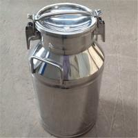 Wholesale Sealing Lids Stainless Steel Milk Bucket Liquid Storage Transportation from china suppliers
