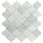 "Wholesale Carrara white lantern shape mosaic tile 12x12"" from china suppliers"