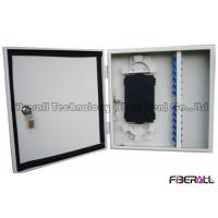 Wholesale Outdoor Waterproof Fiber Optical Distribution Box Wall Mount Fiber Patch Panel 24 Cores from china suppliers