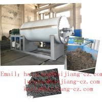 Wholesale Suldge disposal vacuum Drying Machine oil burning heating bottom discharge from china suppliers