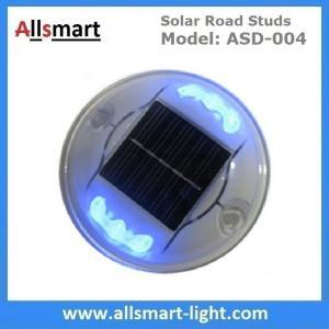 Wholesale Solar Road Stud ASD-004 6pcs LEDs Solar Road Marker Solar Cat's Lights Solar Accent Lights Solar Security Lights from china suppliers