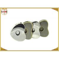 Wholesale Custom Heart Shaped Magnetic Bag Buttons Clasps Various Surface Finishes from china suppliers