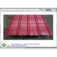 Wholesale Color Coated 1060 Corrugated Aluminum Sheet Zinc Aluminum Roofing Panels from china suppliers