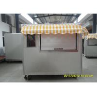 Wholesale Outdoor Coffee Kiosk Street Coffee van With Colorful Awning from china suppliers