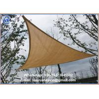Wholesale SUN SAIL SHADE - TRIANGLE CANOPY COVER-OUTDOOR PATIO AWNING-10' SIDES (10x10x10) from china suppliers
