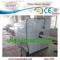 Wholesale Water Pvc Pipe Extrusion Line , Plastic Pipe Making Machine 63mm to 200mm diameter from china suppliers