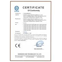 Shenzhen Canroon Electrical Appliances Co., Ltd. Certifications