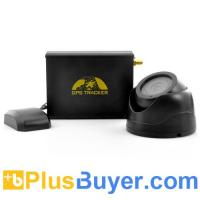 Wholesale Real-Time Car GPS Tracker + GSM Camera (Car Alarm, Remote Control, 2 SIM Slots) from china suppliers
