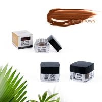 Wholesale Organic Semi Permanent Makeup Pigments Creamy Eyebrow Embroidery Tattoo Ink from china suppliers