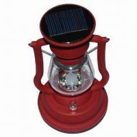 Wholesale Solar Lantern, Decoration for House and Good Assistant for Camping Use, Various Colors Available from china suppliers