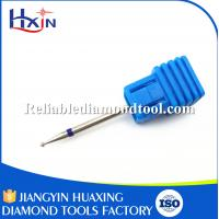 Quality Diameter for 1.0mm Silver Blue Teeth Medium Tungsten Carbide Burrs Diamond Overall Length 45mm for sale
