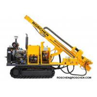 Wholesale Hydraulic Photovoltaic Pile Hole Drilling Rig , Crawler Mounted Pile Hole Drilling Equipment from china suppliers