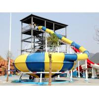 Wholesale Big Water Park Commercial Fiberglass Water Slides ,  Fiberglass Pool Slide from china suppliers