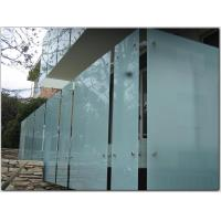 Wholesale Milk White Tempered Safety Laminated Glass For Balcony, 6mm 8mm 10mm Thickness from china suppliers