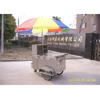 Wholesale Stainless Steel Hot Dog Cart , Street Food Trailer / Mobile Kitchen Trailer from china suppliers