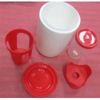 Hot Runner Plastic Injection Mould Parts , Vacuum Cup Bottle Prototype Injection Molding