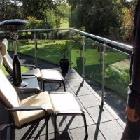 Wholesale Brand new metal porch railing / balustrade with clear glass design from china suppliers